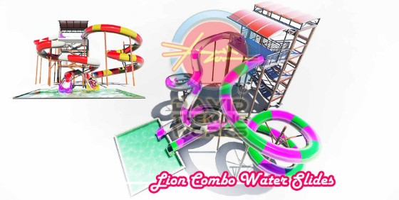 LION-COMBO-WATER-SLIDES -WATER-PARKS-2